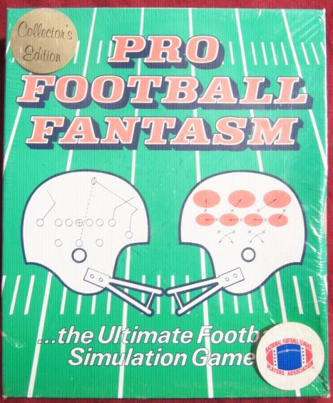 pro football fantasm game box