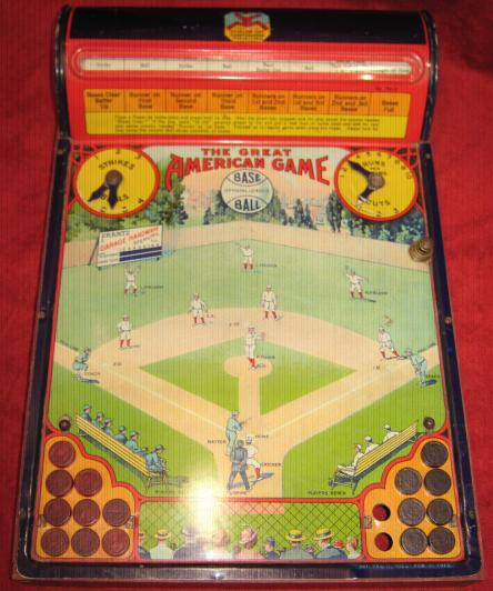 great american baseball game parts 1925