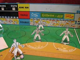 gotham push button electric baseball game parts 1956