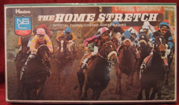 hasbro home stretch horse racing game parts