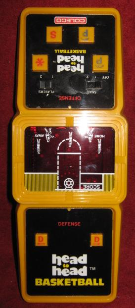 Coleco Head To Head BASKETBALL handheld electronic game