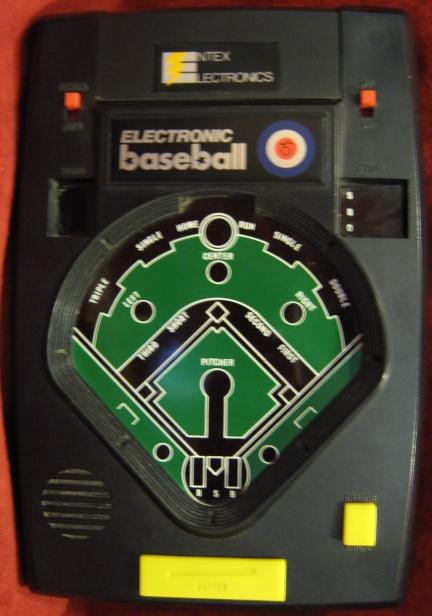 entex handheld electronic game console front