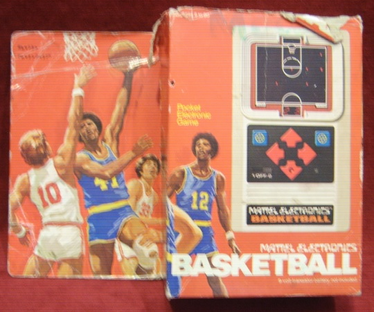 mattel handheld electronic game box front