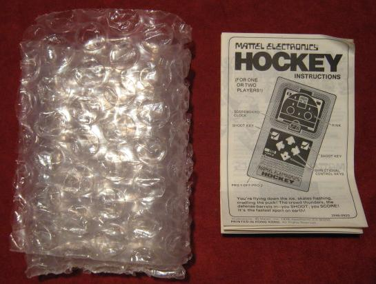mattel handheld electronic game parts