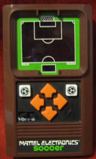 mattel handheld electronic game console front