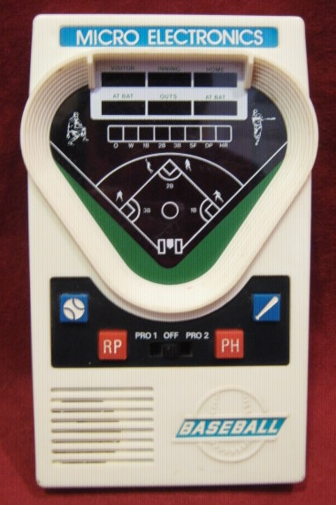 Micro Electronics BASEBALL Handheld Electronic Game