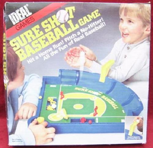 ideal SURE SHOT baseball game 1986