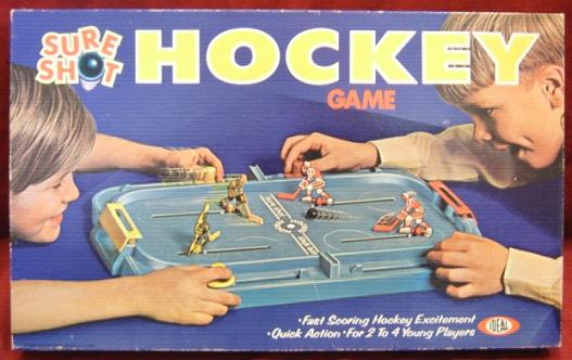 Ideal SURE SHOT HOCKEY Game 1970