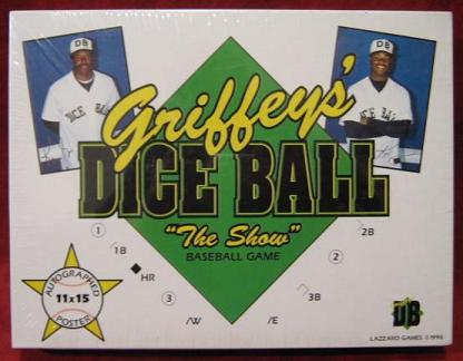 KEN GRIFFEY JR DICE BALL game
