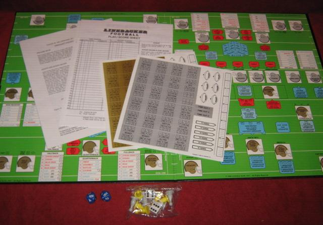 linebacker football game parts 1990