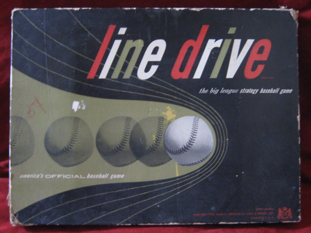 lord and ferber line drive baseball game box