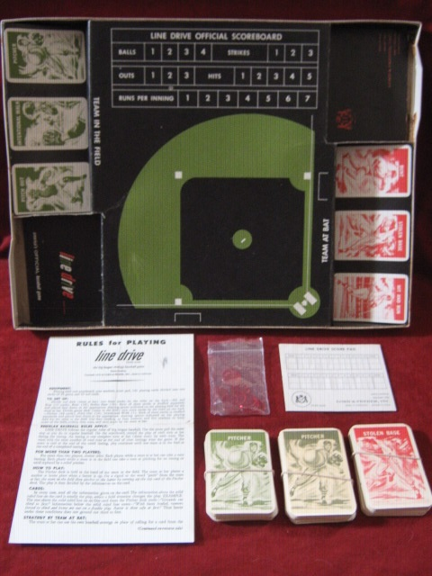 lord and ferber line drive baseball game parts