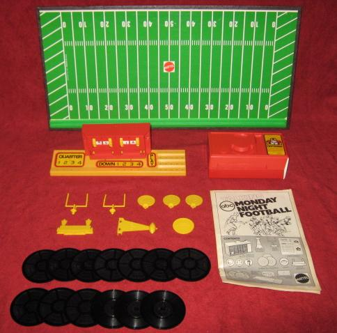 mattel talking football game parts 1977