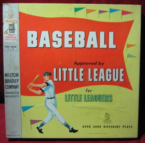 MILTON BRADLEY Baseball for Little League