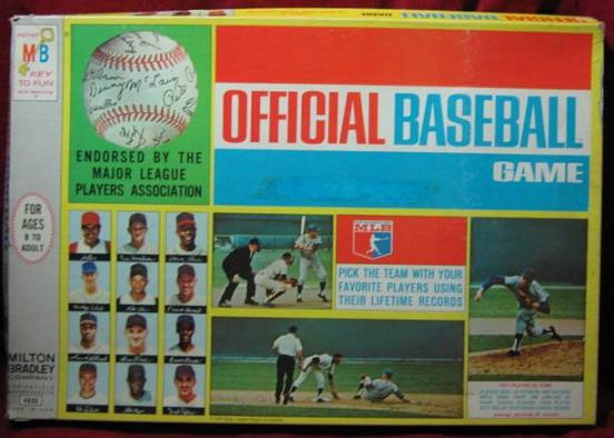 longball baseball game box 1969