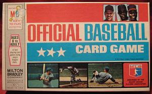 MILTON BRADLEY OFFICIAL BASEBALL CARD GAME 1970