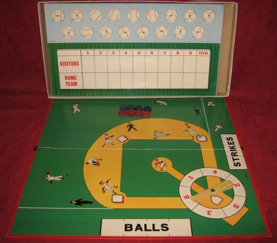 milton bradley pitch and hit baseball game parts