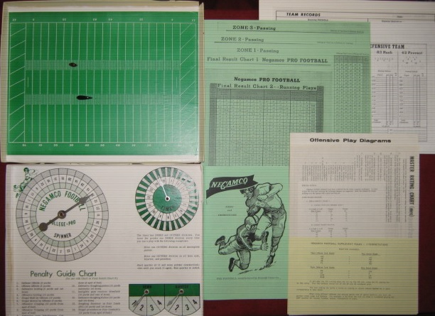 negamco college football game parts