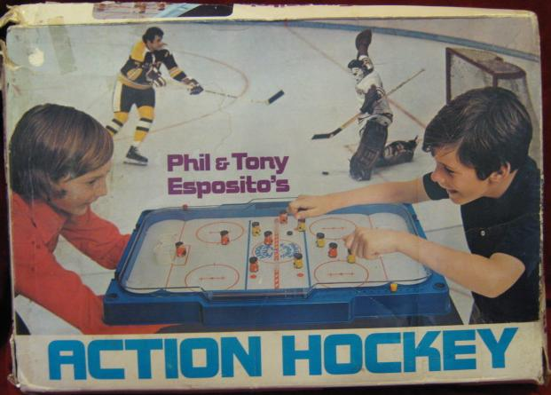 PARKER BROTHERS ESPOSITO ACTION HOCKEY GAME 1973