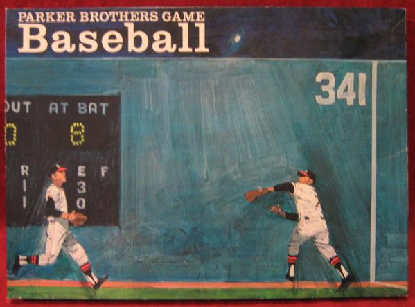 parker brothers baseball game box