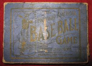 Parker Brothers NATIONAL-AMERICAN BASEBALL CARD Game 1920