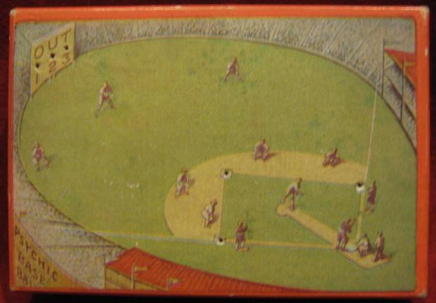 PSYCHIC BASEBALL Game 1929 Edition