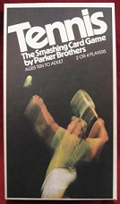 parker brothers tennis card games