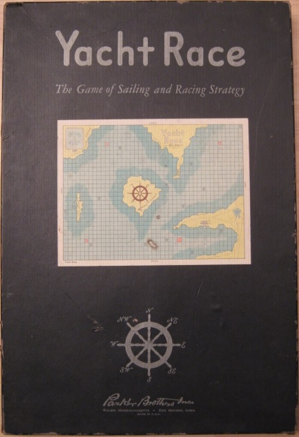 parker brothers yacht race game box