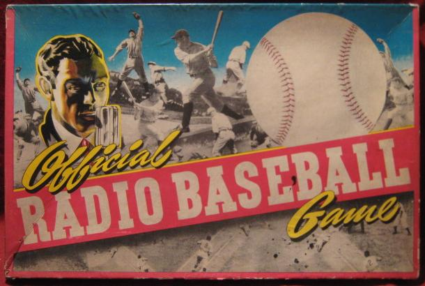 Toy Creations Official Radio Baseball Game box