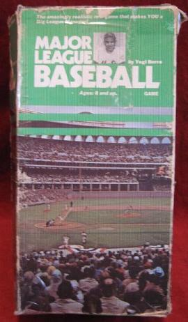 RGI Yogi Berra MAJOR LEAGUE BASEBALL Game 1973