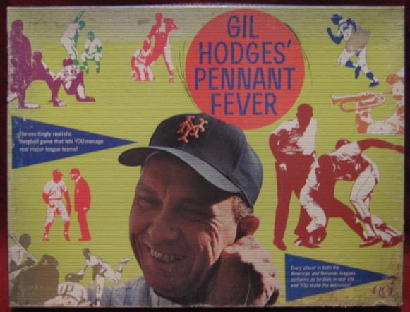 RGI gil hodges pennant race baseball games