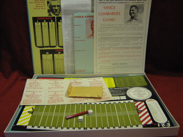 rgi VINCE LOMBARDI FOOTBALL game parts