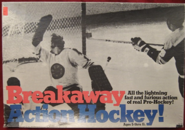 Sports Games BREAKAWAY ACTION HOCKEY Game
