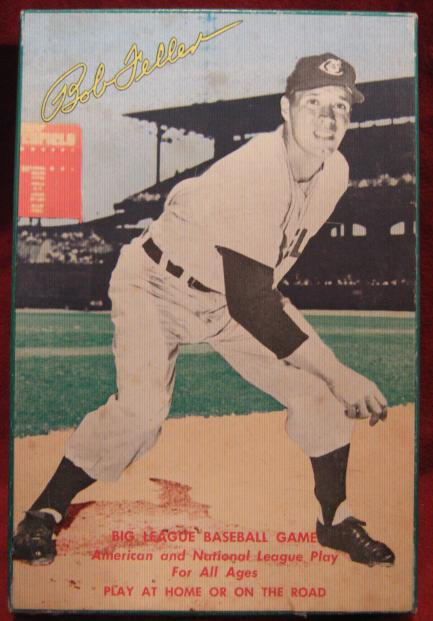 saalfield Bob Feller Big League baseball game box