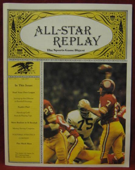 all star replay magazine