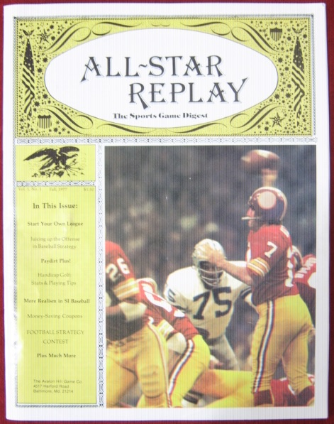 all star replay magazine issue v1n1