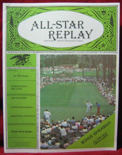 all star replay magazine issue V4N1