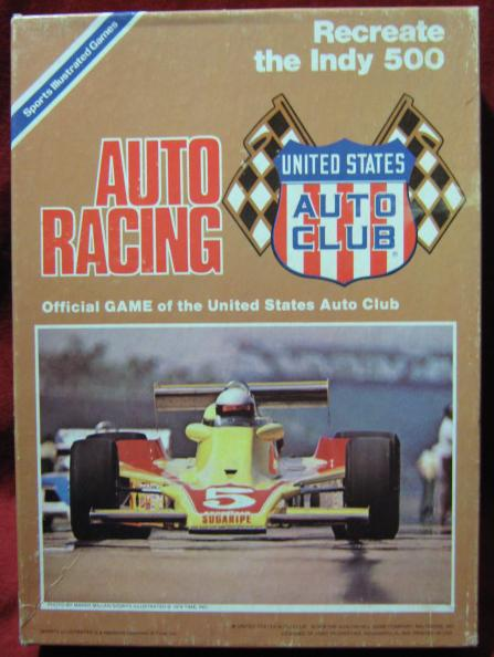 usac auto racing game box 1978