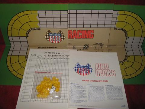 usac auto racing game parts 1980