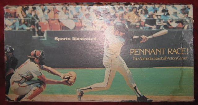 sports illustrated pennant race baseball game box 1972