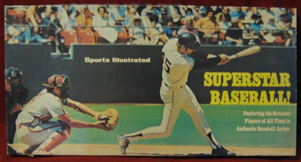 sports illustrated superstar baseball game box 1974