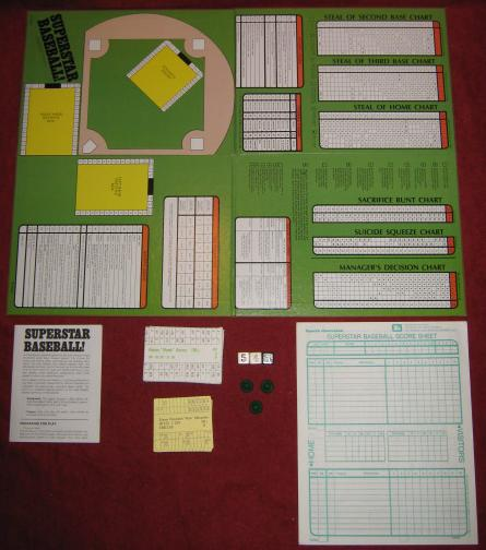 sports illustrated superstar baseball game parts
