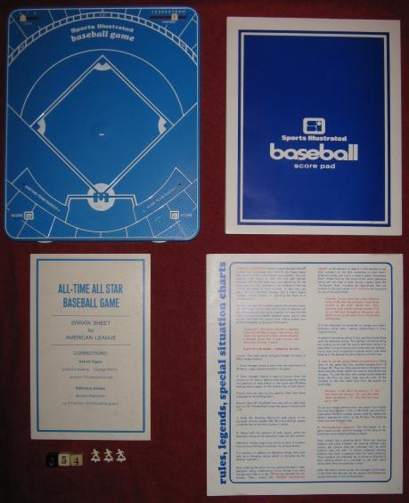sports illustrated baseball game parts 1971