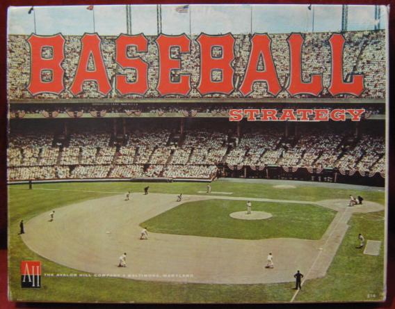 avalon hill baseball strategy game