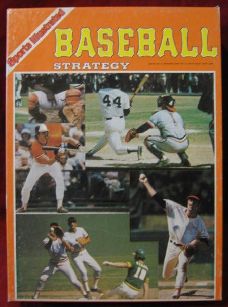 Avalon Hill Baseball Strategy Game Box 1984