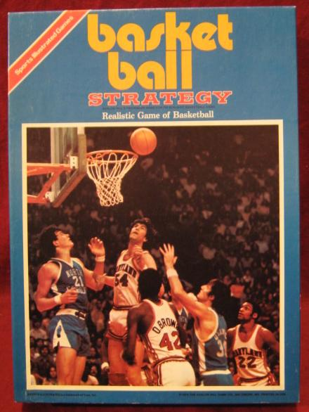 Avalon Hill Basketball Strategy Game Box 1981