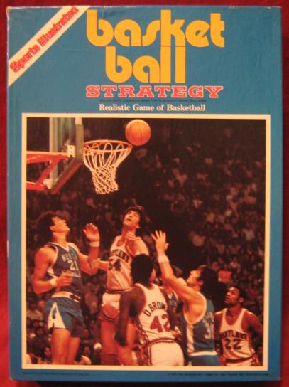 Avalon Hill Basketball Strategy Game Box 1982
