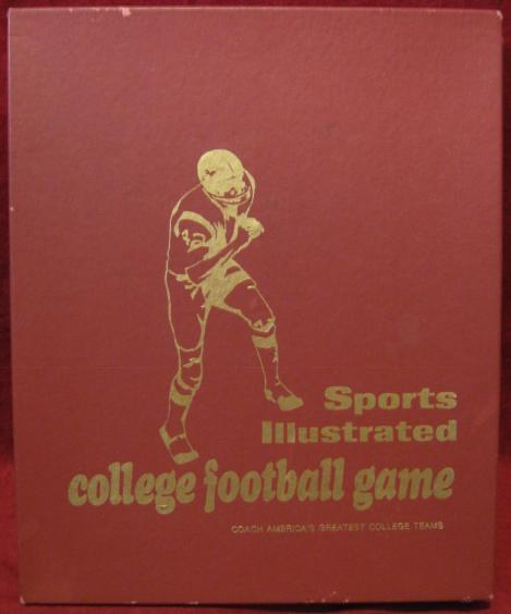 sports illustrated bowl bound college football game box 1970