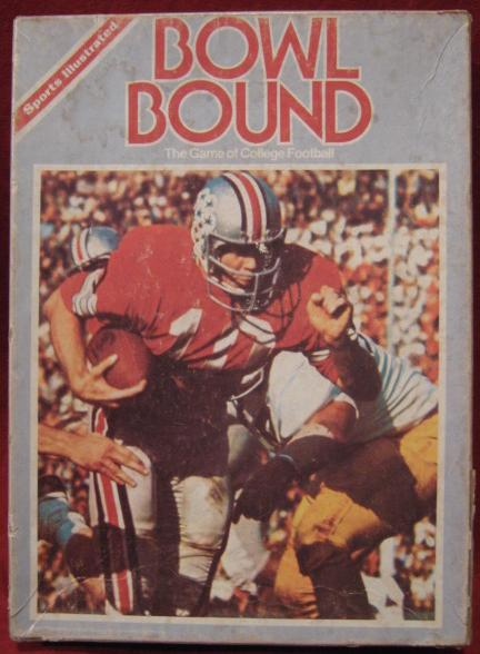 sports illustrated bowl bound college football game box 1978