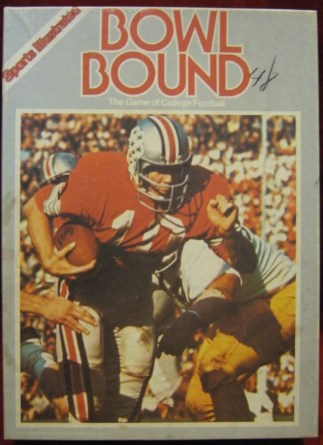 sports illustrated bowl bound college football game box 1985